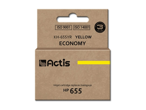 Actis KH-655YR tusz yellow do drukarki HP (zamiennik HP 655 CZ112AE)