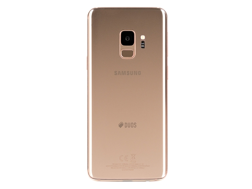 Smartfon Samsung Galaxy S9 Bluetooth WiFi GPS LTE DualSIM 64GB Android 8.0 kolor złoty Sunrise Gold