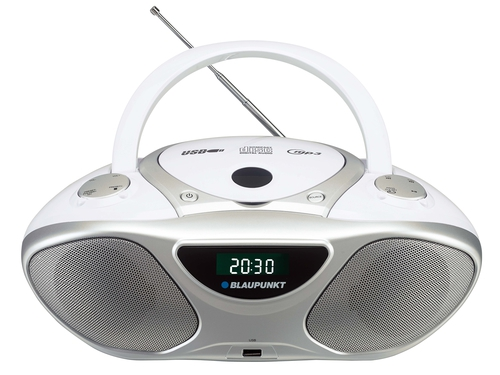 Radioodtwarzacz Blaupunkt BB14WH (CD MP3 USB White)