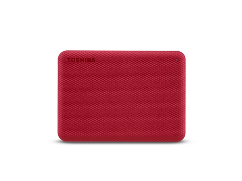 HDD TOSHIBA CANVIO ADVENCE 2TB USB 3.2 RED - HDTCA20ER3AA