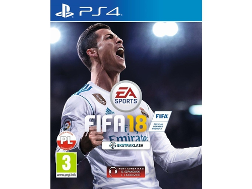 Gra PS4 FIFA 18 Standard Edition wersja BOX