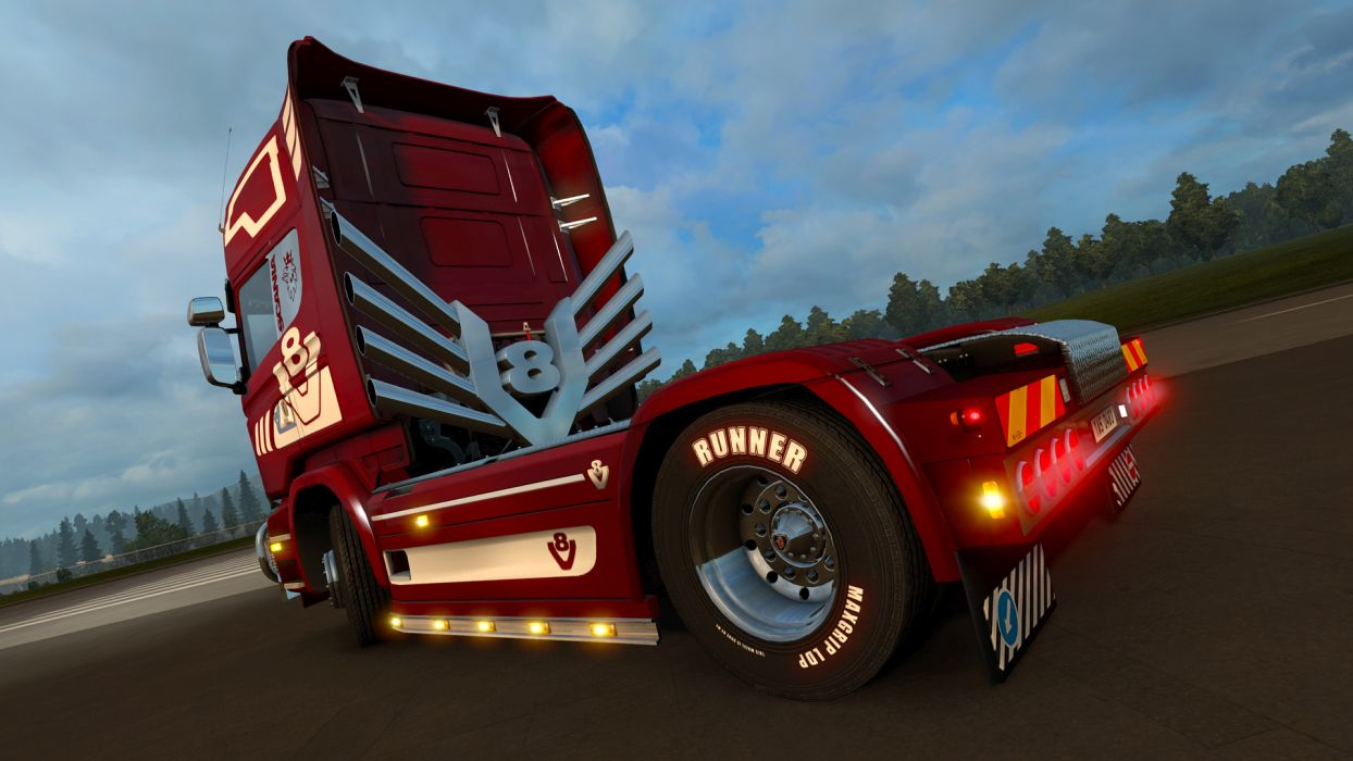 #Euro Truck Simulator 2 - Mighty Griffin - DLC