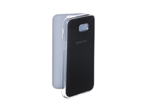 Etui SAMSUNG Clear view cover do A5 (2017) Czarny - EF-ZA520CBEGWW