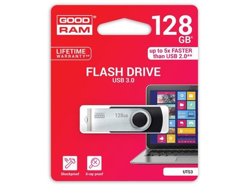Pendrive GoodRam 128GB USB 3.0 UTS3-1280K0R11