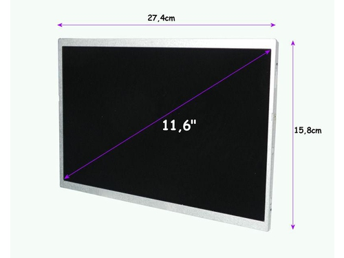 Qoltec 7129.LED_11.6_G_SLIM