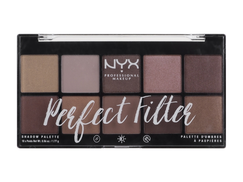 NYX PERFECT FILTER SHADOW PALETTE - GOLDEN HOUR