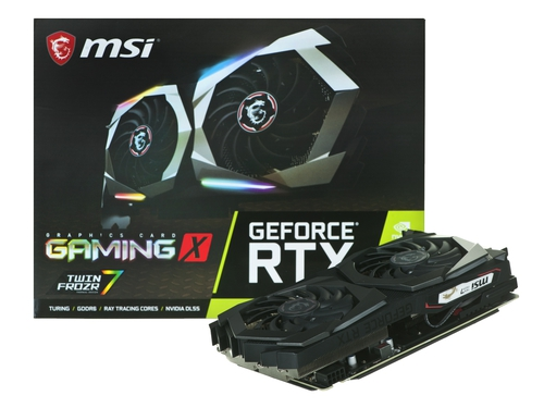 Karta graficzna MSI RTX 2060 SUPER GAMING X - GeForce RTX 2060 SUPER GAMING X