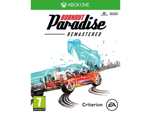 Gra Xbox one BURNOUT PARADISE REMASTERED