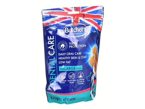 Butcher's Dental Care for large dogs 270g