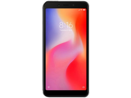 Smartfon XIAOMI Redmi 6 64GB Import Bluetooth WiFi GPS LTE DualSIM 64GB Android 8.0 kolor czarny