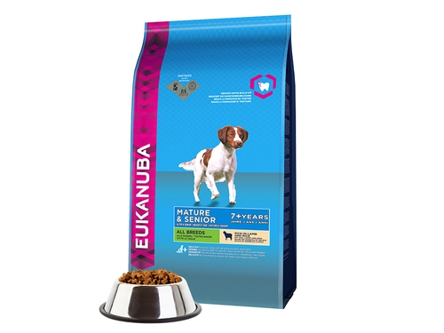 EUKANUBA Senior 7+ Lamb & Rice 2,5kg