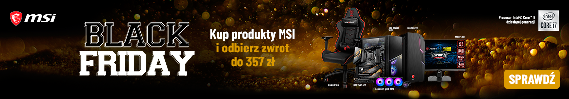 Black Friday z MSI