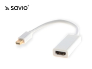 SAVIO ADAPTER MINI DISPLAYPORT MĘSKI - HDMI A ŻEŃSKI CL-57 - cl-57