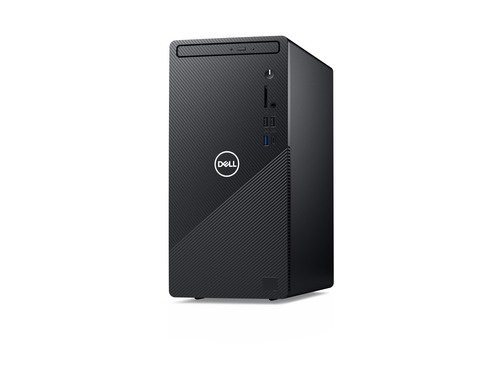 Dell Inspiron DT 3881 i5-10400F 8GB DDR4 2933MHz 256GB M.2 PCIE + 1TB HDD NVIDIA GeForce GTX 1650 SUPER 4GB DVDRW WiFi BT Windows 10 Home 2yNBD Czarny - 3881-6292