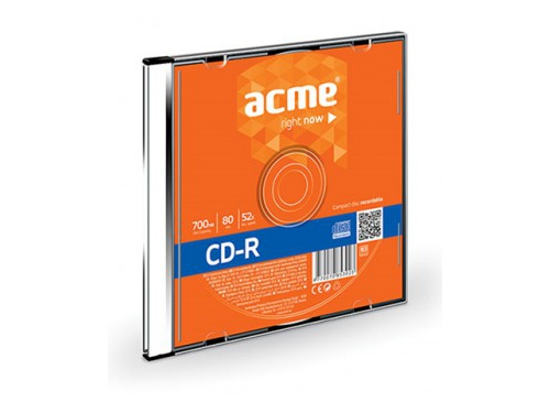 CD-R Acme 80/700MB 52X slim box - 5278