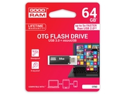 Pendrive Goodram Flashdrive Twin 64GB USB 3.0 - OTN3-0640K0R11