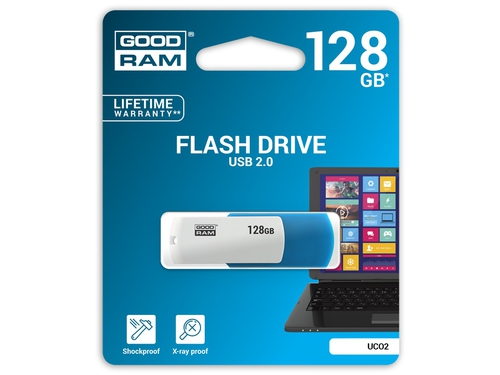 Pendrive GoodRam 128GB USB 2.0 UCO2-1280MXR11