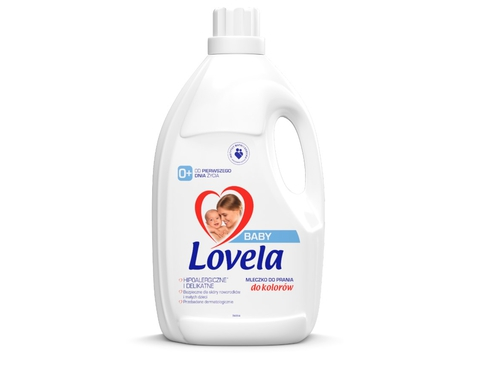 LOVELA Baby Płyn do Prania Kolor 4,5l - 5900627093629