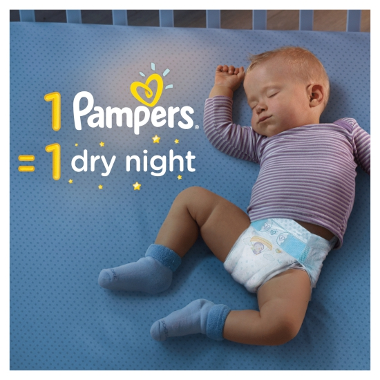 #Pampers pieluchy ABD Mega Pack+ Extra Large 96szt