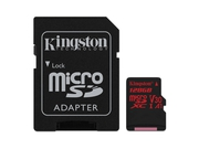 KINGSTON MICRO CANVAS REACT UHS-I SDCR/128GB+ADAPT