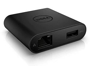 #Dell Adapter USB-C to HDMI / VGA / Ethernet / USB3.0 DA200 (470ABRY)