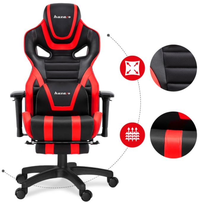 Fotel gamingowy HZ-Force 7.5 Red3