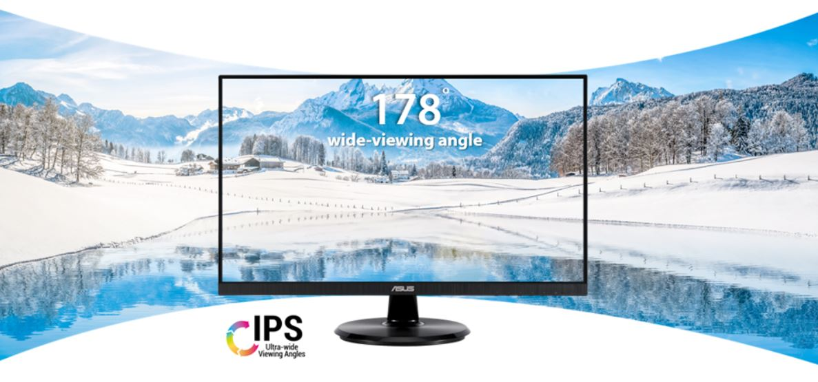 "#MONITOR ASUS LED 24"" VA24DQLB"