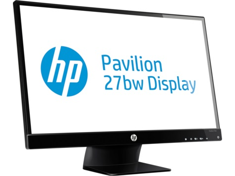 "#MONITOR HP LED, IPS 27"" 27wm (V9D84AA)"