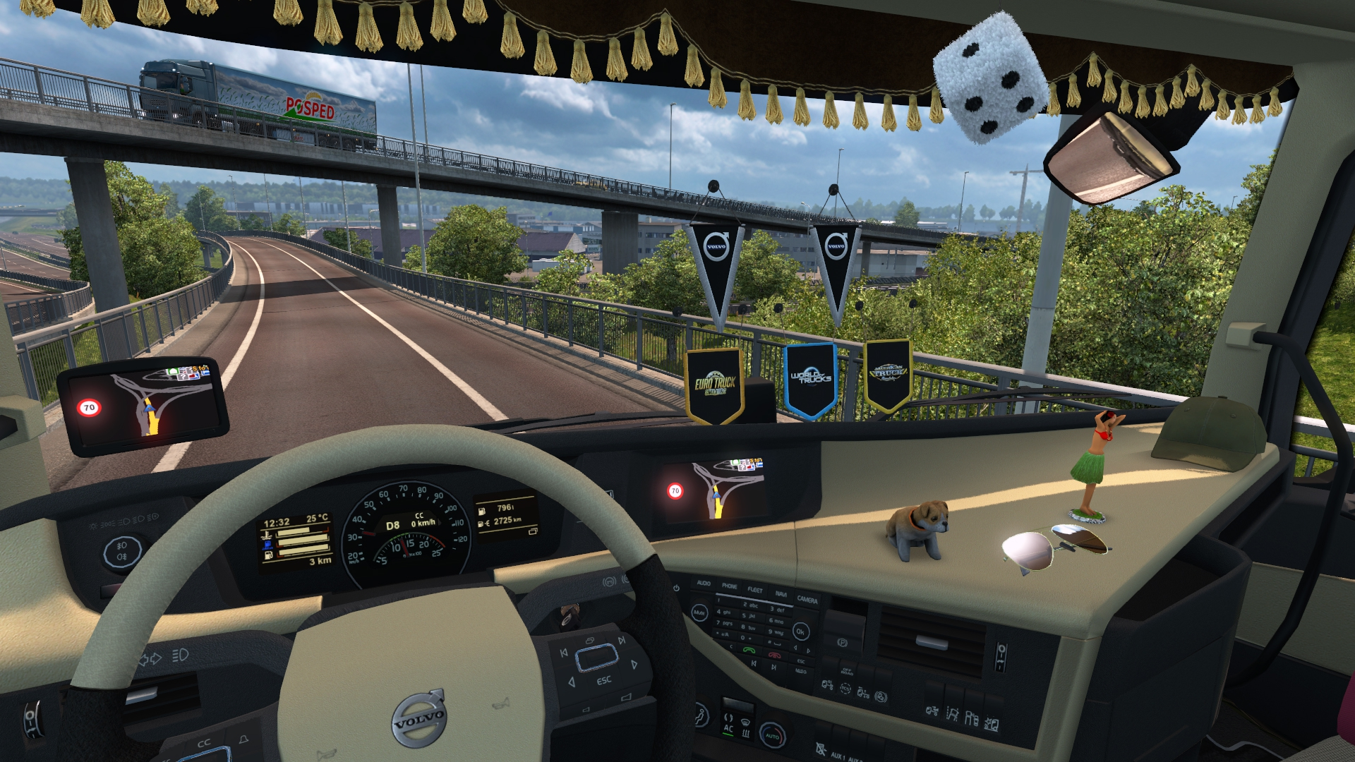 #Euro Truck Simulator 2: Cabin Accessories - DLC