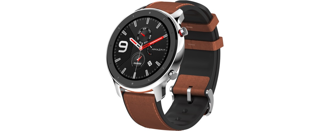 #Smartwatch Huami Amazfit GTR-47mm stainless steel