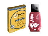 NORTON SECURITY DELUXE 3.0 PL 3D/12M 2+1 PROMO CARD + Flashdrive Adata UV100 16GB - 21378603