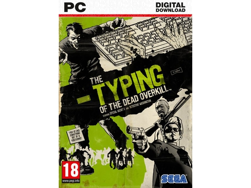 Gra PC The Typing of the Dead: Overkill – Love First Bite - wersja cyfrowa