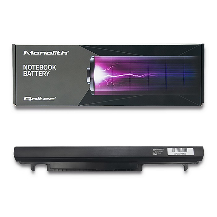 #Qoltec Bateria do laptopa Long Life Asus K56CB K56C | 2200mAh | 14.8V