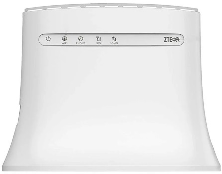 #ZTE Router LTE MF283v White