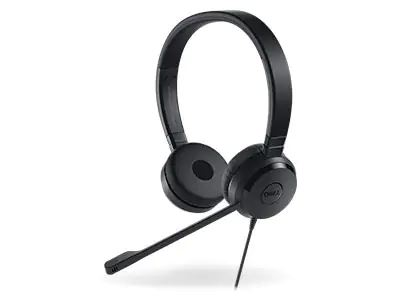 #Dell 520-AAMD PC headset USB Stereo On-ear Black