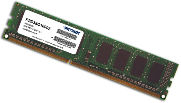 #Patriot 8GB 1600MHz DDR3 Non-ECC CL11 DIMM 1.5V