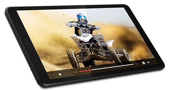 "#Lenovo TAB M7 7""HD 1/16GB 4G LTE Onyx Black"