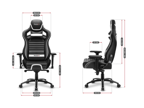Fotel gamingowy HZ-Force 8.2 White