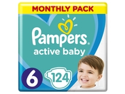 Pampers Pieluchy ABD Monthly Box 124