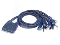 ATEN KVM 4/1CS-64US USB CS-64US