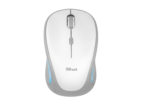 MYSZ TRUST Yvi FX Wireless Mouse - White - 22335