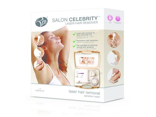Depilator laserowy Rio Beauty Celebrity Salon LAHR2-C kolor biały