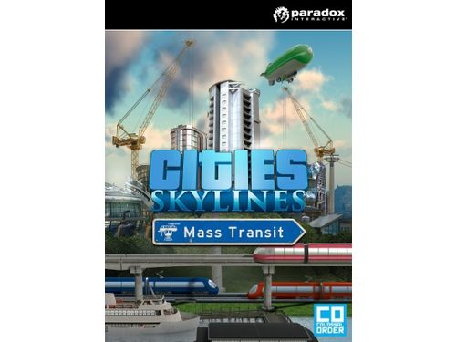 Gra PC Mac OSX Linux Cities: Skylines - Mass Transit wersja cyfrowa DLC