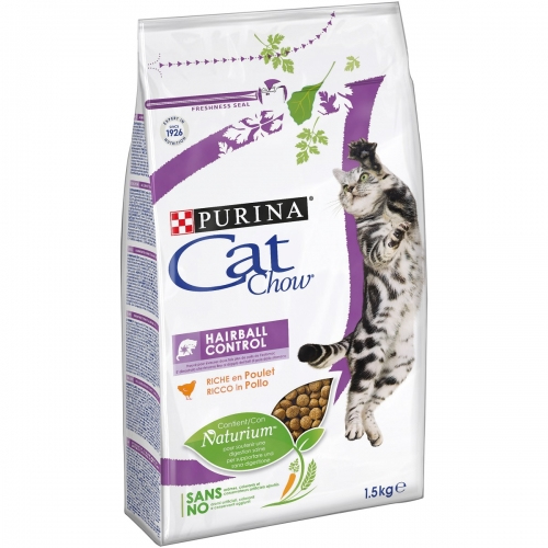 #PURINA CAT CHOW Special Care Hairball Control 1,5kg