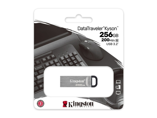 KINGSTON FLASH Kyson 256GB USB3.2 Gen 1 - DTKN/256GB