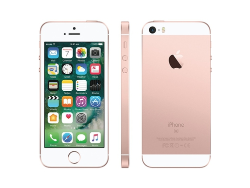 Smartfon Apple iPhone SE MP852CS/A LTE Bluetooth WiFi NFC GPS 32GB iOS 9 różowy