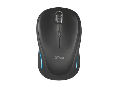 MYSZ TRUST Yvi FX Wireless Mouse - Black - 22333