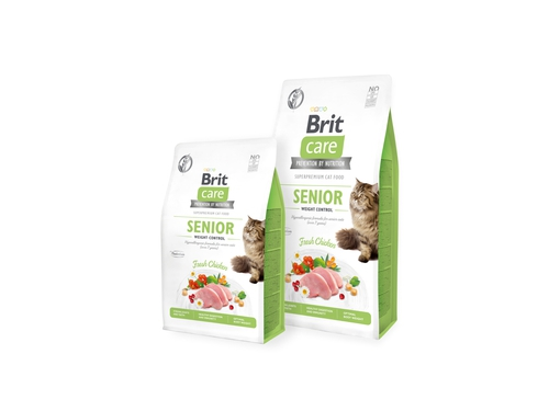 BRIT CARE Cat Grain-Free SENIOR 7kg