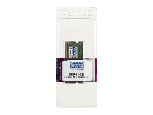 Pamięć Goodram SO-DIMM DDR4 2133MHz CL15 4 GB - GR2133S464L15S/4G