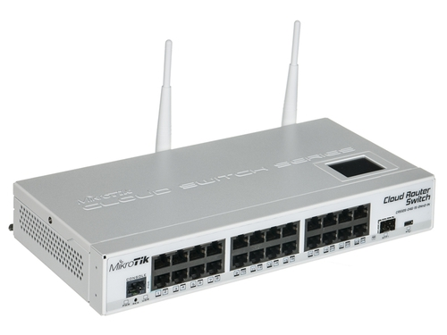 Switch MikroTik CRS125-24G-1S-2HnD-IN 24x 10/100/1000Mbps
